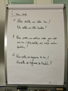 Team Value Workshop - Fragen
